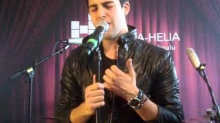 Darin at NRJ Live Finland - Same Old Song