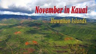 November in Kauai (Hawaiian Islands) / Ноябрь на Кауаи (Гавайских островах)