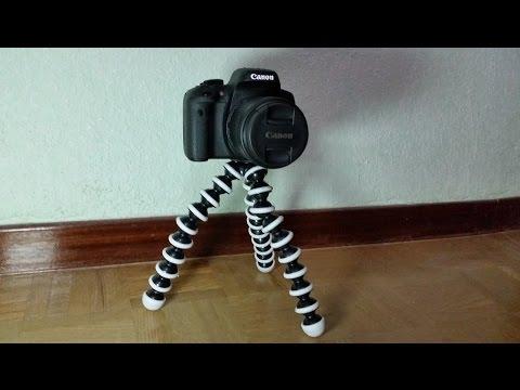 Trípode Gorillapod SLR-ZOOM para DSLR, Smartphone, cámara compacta,bridge,reflex.