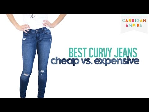 Best Four Jeans for Curvy Women: Cheap vs. Expensive