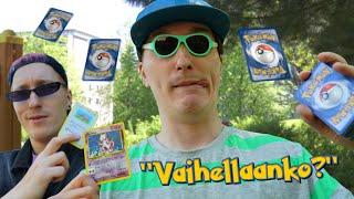 Kun lapsena vaihtelit Pokemon -kortteja...