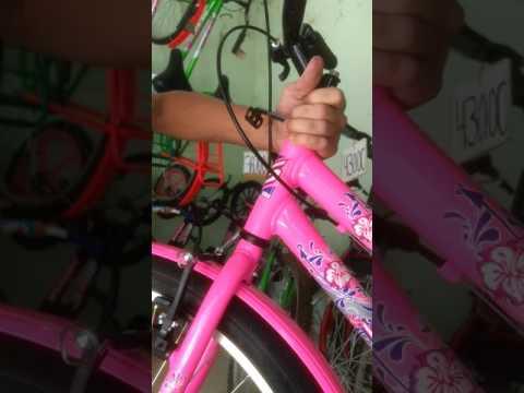 como colocar uma cesta na bicicleta (cicle boa esperança )
