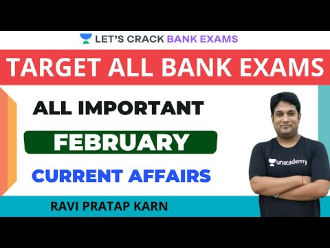 Daily Current Affairs of February | Target IBPS/RRB/SBI PO/Clerk 2020/2021 | Ravi Pratap