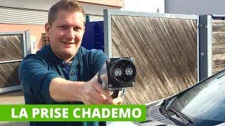 La prise CHADEMO pour recharger les voitures électriques
