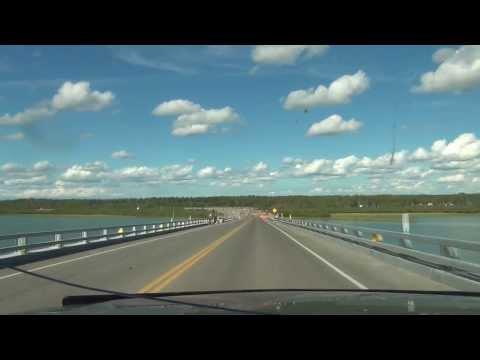 The only bridge crossing Canada's Macken