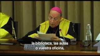 """""""La teología no puede separarse de la propia vida"""""""