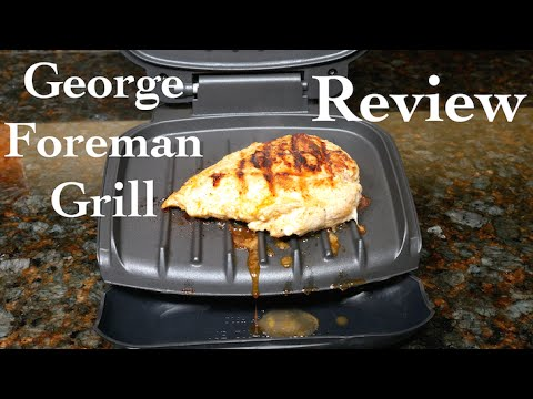 , George Foreman 6-Serving Classic Plate Grill and Panini Press, Black, GR0103B