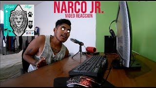 Alemán   Narco Jr. Feat. Elijah King (Video Reaccion)