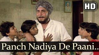 Panch Nadiya De  Aaj Ke Angaarey  Om ShivpuriArchana Puran Singh  Bappi Lahiri Hits