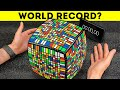Solving The Huge Rubik 39 s Cube 15x15 In Record Time