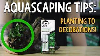Seachem Flourish glue - sposoby używania