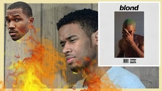 Gambar cover Frank Ocean - BLONDE First REACTION/REVIEW