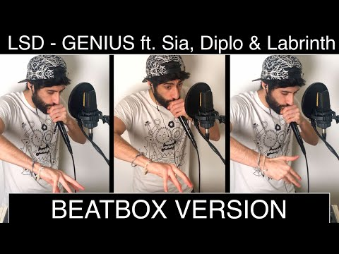 LSD - Genius ft. Sia, Diplo & Labrinth / Beatbox Version by MB14 (Loopstation)