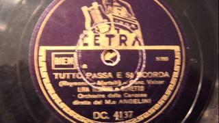 Musik-Video-Miniaturansicht zu Tutto passa e si scorda Songtext von Lina Termini