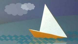 Cómo hacer un velero de papel, papiroflexia