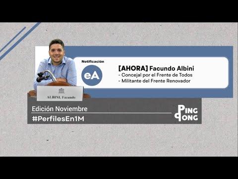 #PerfilesEn1M: Facundo Albini