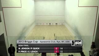 SQUASH (Hardball Doubles) : SDA 2013 Briggs Cup - SF ROUNDUP