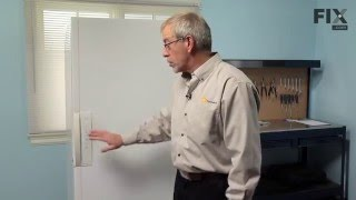 Frigidaire Freezer Repair – How to replace the Freezer Key