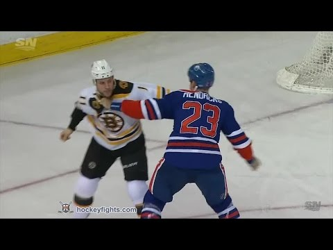 Matt Hendricks vs. Gregory Campbell