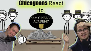 Chicago Crew Reacts To Sam O'Nella - Historical Misconceptions For Family Dinner