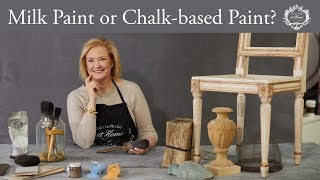 Whats The Difference Between Milk Paint And Chalk-based Paint?