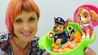 Щенячий патруль и ДЕТСКИЙ САД Капуки Кануки 16 👍 Учим животных и готовим для игрушек. Игры для детей