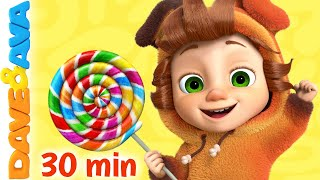 🍭 Johny Johny Yes Papa and More Nursery Rhymes and Kids Songs by Dave and Ava 🍭