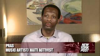 Haggis and Pras Embracing Haiti - New York Post