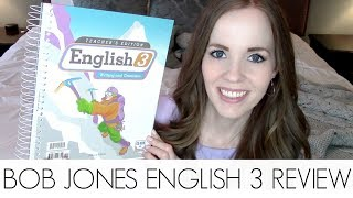 BJU PRESS HOMESCHOOL ENGLISH 3 CURRICULUM REVIEW | HOMESCHOOL CURRICULUM REVIEW