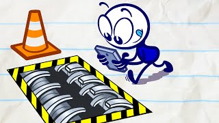 Pencilmate Watch Out! | Animated Cartoons Characters | Animated Short Films | Pencilmation