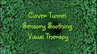 Clover Tunnel Sensory Soothing Visual Therapy Calm Relaxation
