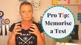 How to Memorise a Dressage Test   Pro Tip