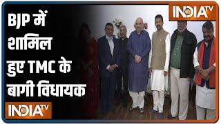 Rajib Banerjee, 4 other TMC leaders join BJP in Delhi