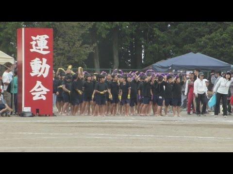 真岡小学校運動会 真岡小ソーラン2014 2/2 2014.9.20