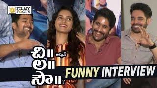 Chi La Sow Movie Team Funny Interview || Sushanth, Ruhani Sharma, Rahul Ravindran, Naga Chaitanya