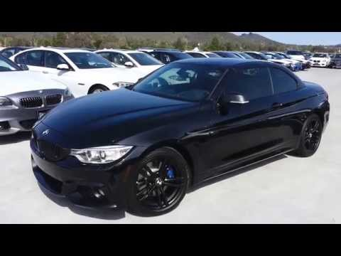 New BMW 428i Convertible BLACK OUT!! With Black 18 inch M Sport Wheels