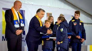 MOL Football Academy ünnepélyes megnyitó   slávnostné otvorenie (II.)