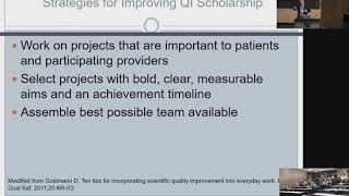 Quality Improvement and Leadership in a Complex Environment