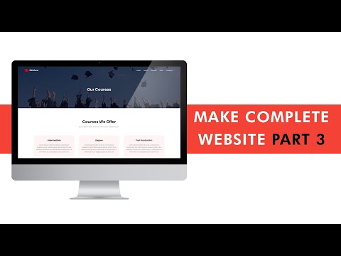 Make Complete College Website Design | Course Page and Blog ...
