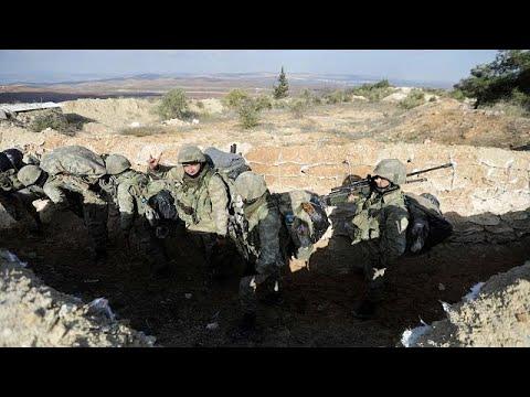 Η Τουρκία σφυροκοπά το Αφρίν