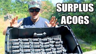 We Found U.S. Military Trijicon ACOG Scopes!!!