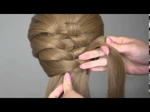 Hair Tutorial  Intricate Knotty Braid Hairstyle