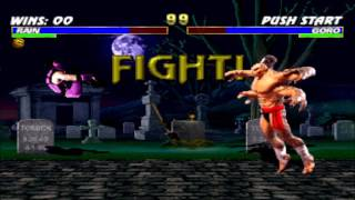 Rain vs Goro Double Flawless HD