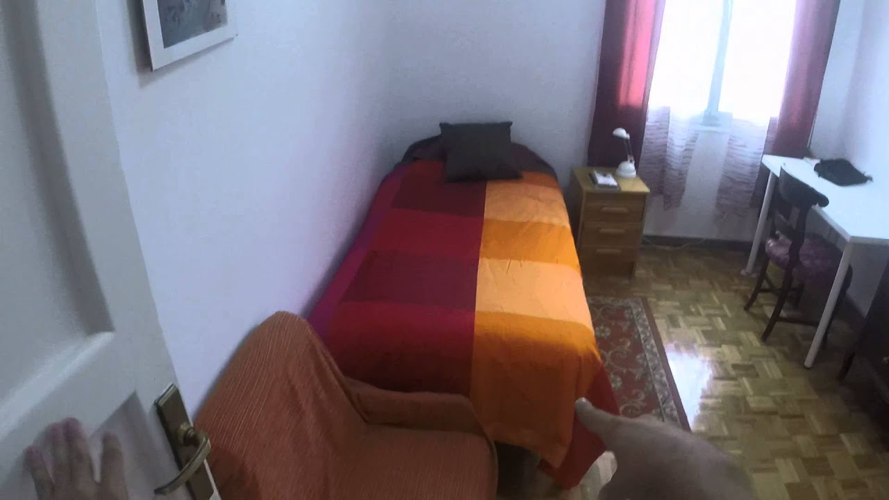 Furnished room with heating in shared apartment, Rios Rosas