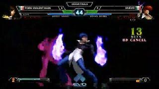 EVO 2016: The King of Fighters XIII (KoF XIII) Grand Final: FORD Violent Kain vs Huevo