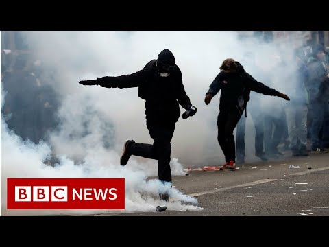 France's largest nationwide strike in years has severely disrupted schools and transport. Workers are angry about planned pension reforms that would see them ...