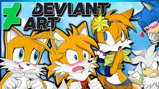 Tails And Tailsko VS DeviantArt | FEMALE TAILS !