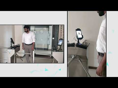 Face Recognition through Tablet with Mobile App