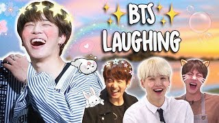 BTS Laughing!