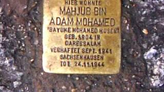Mahjub Bin Adam Mohamed 1904-1944, Berlin, Brunnenstrasse 193